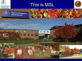 This is MSL