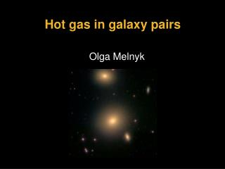 Hot gas in galaxy pairs