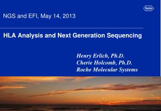 HLA Analysis and Next Generation Sequencing