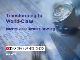 Interim 2000 Results Briefing