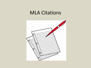 MLA Citations