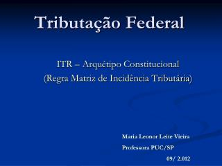 Tributação Federal