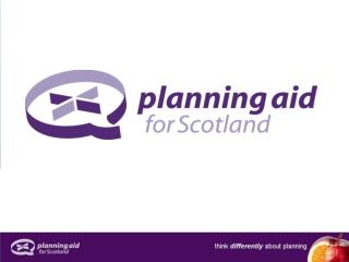 planning aid for scotland