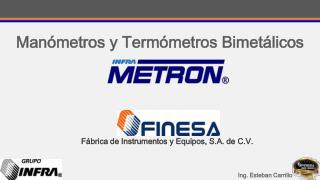 Manómetros y Termómetros Bimetálicos