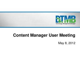 Content Manager User Meeting