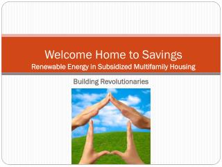 Welcome Home to Savings