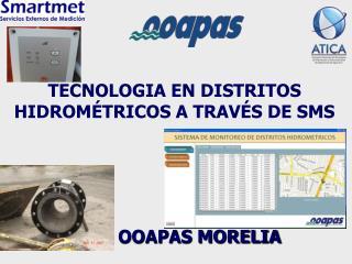 TECNOLOGIA EN DISTRITOS HIDROMÉTRICOS A TRAVÉS DE SMS