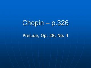 Chopin – p.326