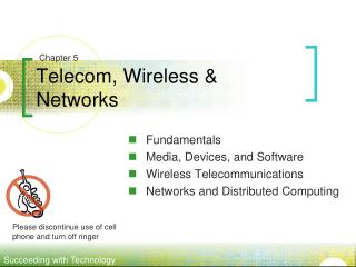 Telecom, Wireless & Networks
