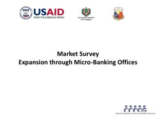 Market Survey Expansion through Micro-Banking Offices