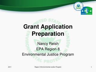 Grant Application Preparation