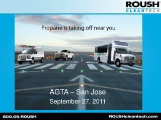 AGTA – San Jose September 27, 2011