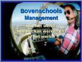 B ovenschools  Management