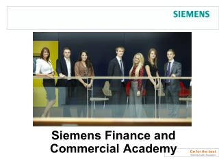 Siemens Finance and Commercial Academy