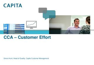 CCA – Customer Effort