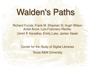 Walden's Paths