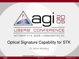 Optical Signature Capability for STK