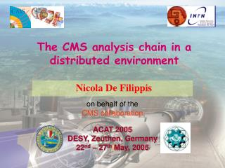 The CMS analysis chain in a distributed environment