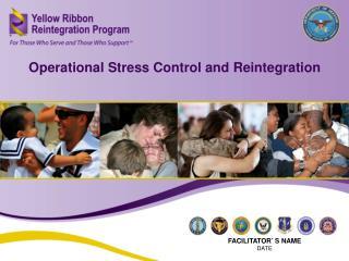 Operational Stress Control and Reintegration