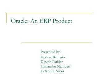 A Brief History of Oracle