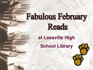at Leesville High  School Library