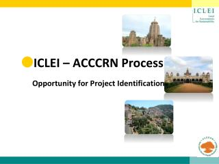 ICLEI – ACCCRN Process Opportunity for Project Identification