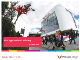Our approach to e-Safety