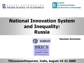 National Innovation System and Inequality: Russia