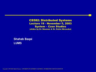 Shahab Baqai LUMS