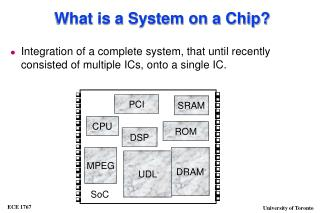 What is a System on a Chip