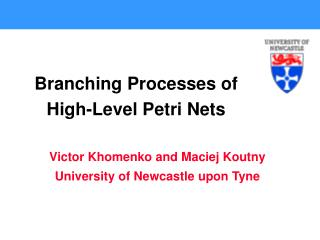 Branching Processes of High-Level Petri Nets
