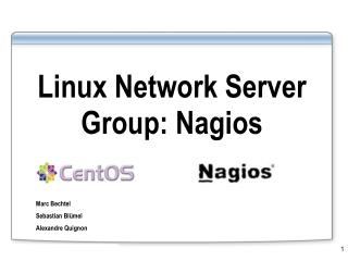 Linux Network Server Group: Nagios