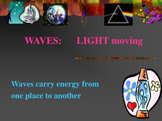 WAVES:      LIGHT moving