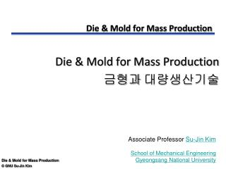 Die & Mold for Mass Production