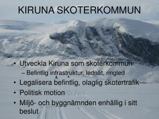 KIRUNA SKOTERKOMMUN