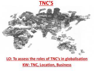 TNC'S
