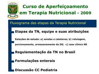 Curso de Aperfeiçoamento em Terapia Nutricional - 2009