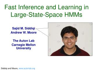 Fast Inference and Learning in Large-State-Space HMMs