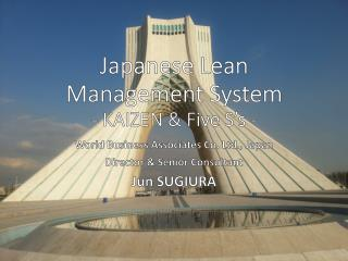Japanese Lean Management System - KAIZEN & Five S's -