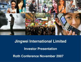 Jingwei International Limited