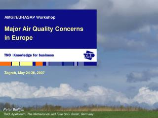 Major Air Quality Concerns in Europe