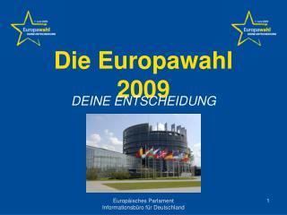 Die Europawahl 2009