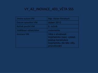 VY_42_INOVACE_403_VĚTA SSS
