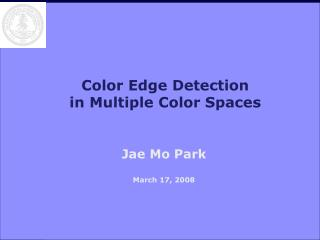 Color Edge Detection in Multiple Color Spaces