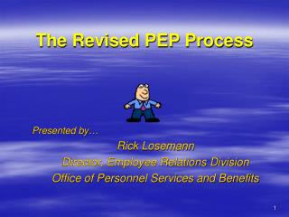 The Revised PEP Process