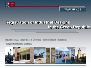 Registration of Industrial Designs in the Czech Republic