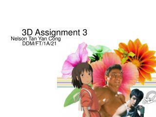 3D Assignment 3