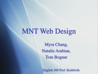 MNT Web Design