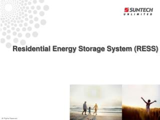 Residential Energy Storage System (RESS)