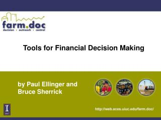 Tools for Financial Decision Making